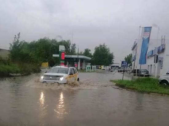 Обнинск снова затопило после ливня