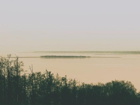 Уровень воды в Волге в Ульяновской области поднимается