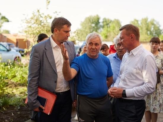 Роман Старовойт встретился с  пострадавшими от урагана в Рыльске