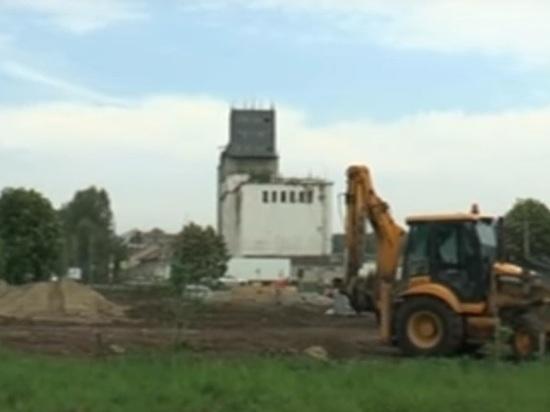 В димитровградском парке нашли склепы с гробом