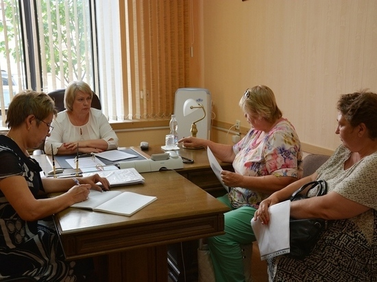 Ольга Березнева провела очередной приём граждан