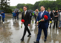 В Берлине губернатор Тверской области почтил память советских воинов