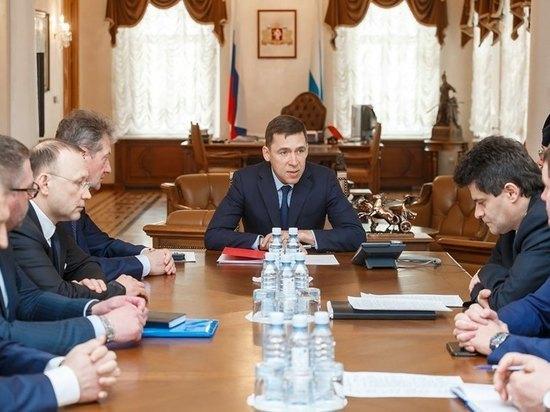 Куйвашев обсудил с Алтушкиным и Козицыным строительство парков и скверов