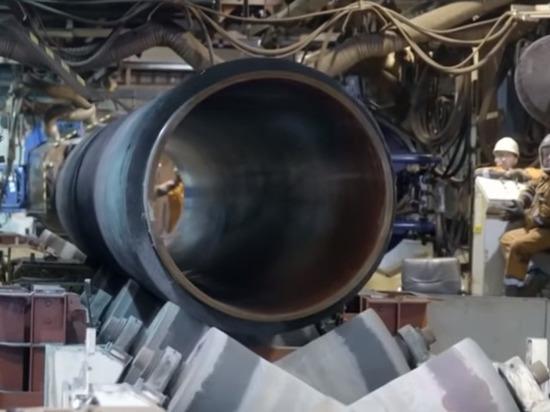 В Германии протестующие против «Северного потока-2» залезли в трубопровод