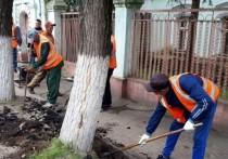 В Иванове ремонтируют дороги и тротуары