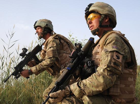 Британские войска в Ираке приготовились  к возможным ударам США по Ирану