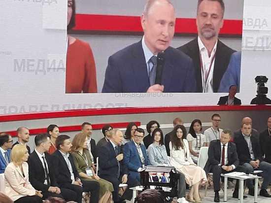 Путина ждут в Калужской области