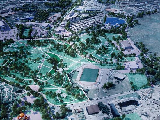 В Геленджике построят новый парк площадью в 30 гектар