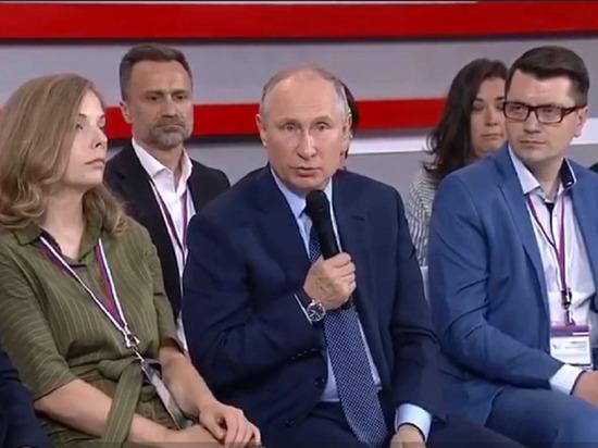 Первая за 9 месяцев публичная реакция Путина на ситуацию с шиесским могильником