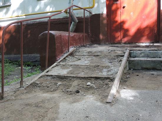 Создание безбарьерной среды приводит к появлению ущербных конструкций