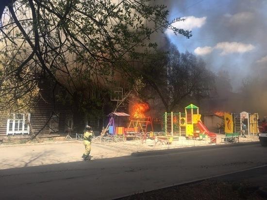 Томск исторический торопятся дожечь: за один день сразу три возгорания!