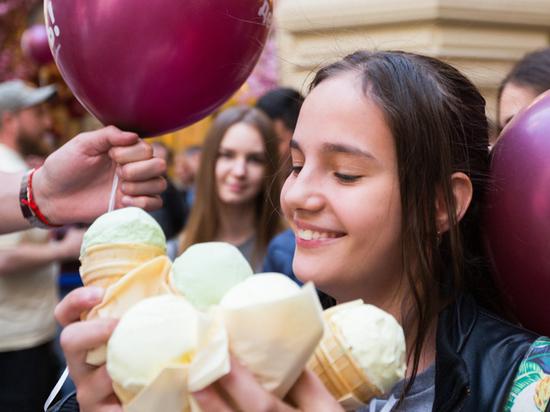 Традиционный «Праздник мороженого» стартует 25 мая в Сокольниках