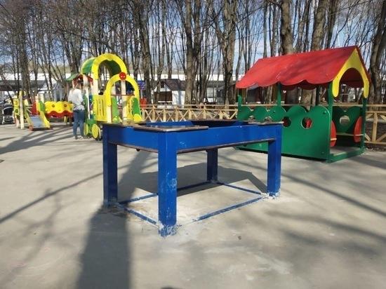 Администрация Рязани прокомментировала ситуацию с детской площадкой в Лесопарке