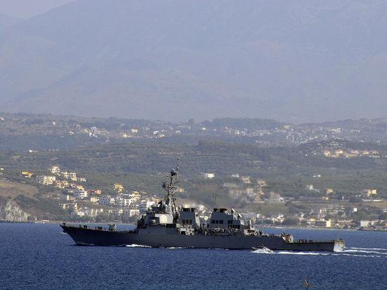 Эсминцы ВМС США зашли в Персидский залив