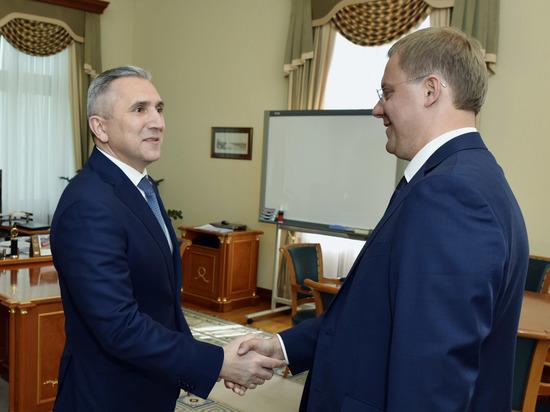 Руководство Тюменской области и СвЖД обсудили планы на год