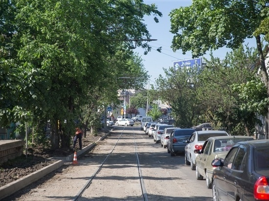 В центре Краснодара отремонтируют три улицы