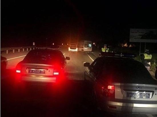 Пешеход в Ставрополе перепрыгнул через отбойник и погиб под колесами