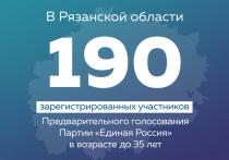 В Рязанской области лидерами праймериз «Единой России» попробуют стать 190 участников