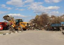 Более 50 000 кубометров древесных опилов поступило на объекты АО «Управление отходами»
