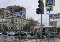 В Челябинске Kia Spectra врезалась в маршрутку, пострадали четыре пассажира