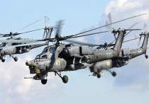 В Крым перебазировали десяток вертолетов армейской авиации