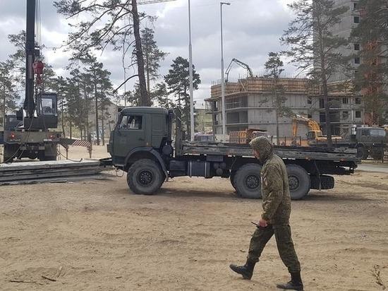 В парке Улан-Удэ приостановили строительство военно-патриотического центра