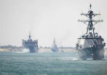 Иранские ракеты нацелились на американские корабли в Персидском заливе