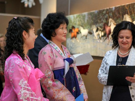 В Саранск привезли работы мастеров из Северной Кореи