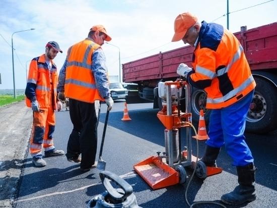 Начат ремонт нового отрезка Третьей продольной под Волгоградом
