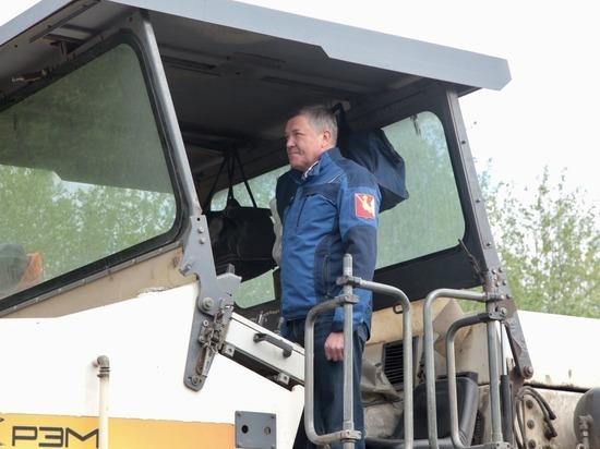 В Вологодском районе стартовали ремонты дорог