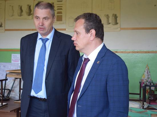 Ремонт школы в поселке Малечкино Череповецкого района скоро завершат