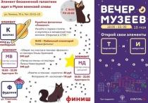 «Вечер музеев» состоится в Ноябрьске