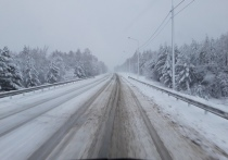 Автодороги в Забайкалье засыпало снегом