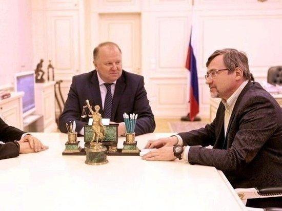 Цуканов и Куйвашев встретились с гендиректором ВЦИОМ Федоровым