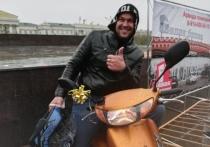 Новичок выиграл скутер на открытии мотосезона в Чите