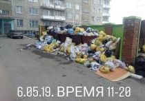 Регоператор Заринска заявил, что по нормам достаточно вывозить мусор один раз в день