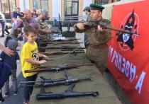 На празднике «МК» в Королеве показали раритетное оружие