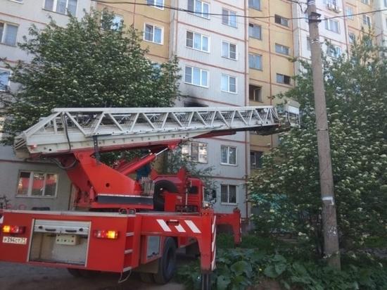 В Туле из пожара спасены двое