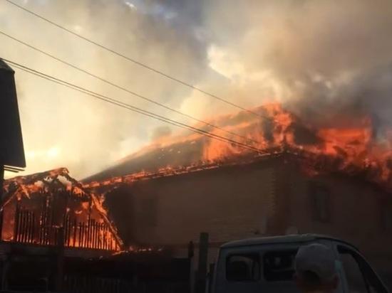 В Ярославле из-за неисправного газового баллона сгорел коттедж