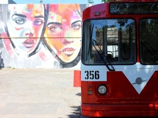 Один троллейбус на День города Иванова превратится в арт-объект