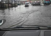 Читинцы жалуются на «реку» по улице Лазо