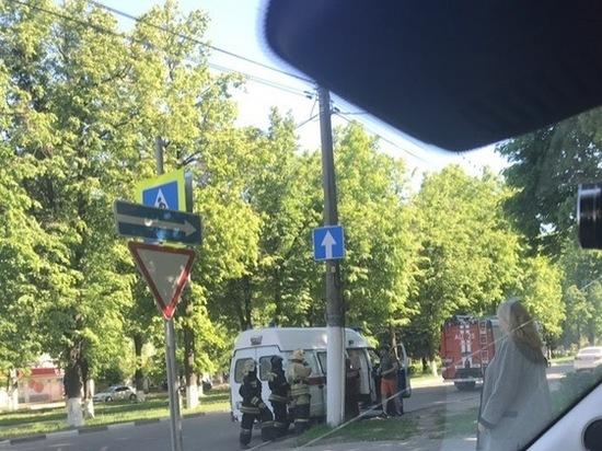 В Новомосковске сбили велосипедиста