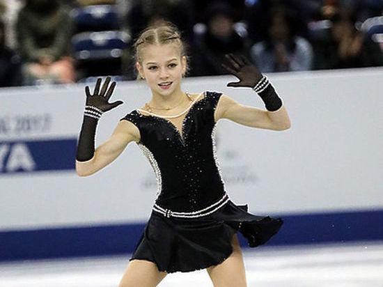 Рязанка Трусова стала лучшей юной европейской спортсменкой