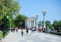 После праздника Центральную набережную Волгограда убрали за два часа