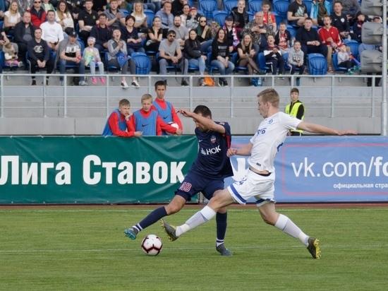 «Енисей» сыграл вничью с «Динамо»