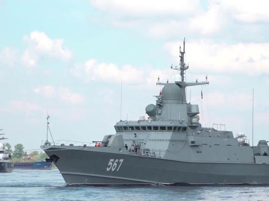 Латвия вновь переживает из-за военных кораблей России на Балтике