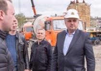 Сергей Цивилёв посетил строительные площадки трёх важных кемеровских объектов