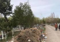«Горы мусора шокируют»: красноярский общественник рассказал о свалке на Шинном кладбище
