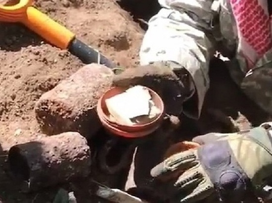 В Ростовской области обнаружили тайник солдата вермахта