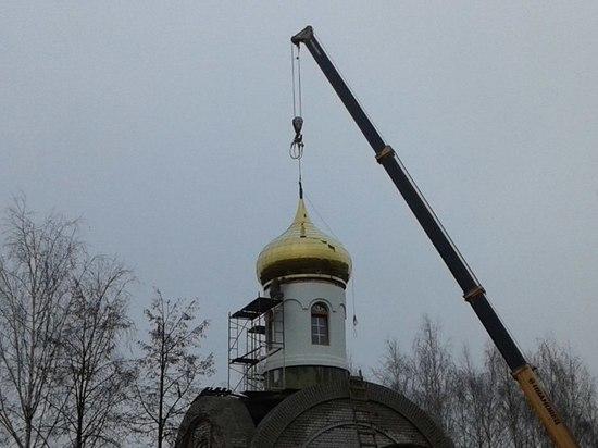 Новый храм в Иванове достроят в ближайшее время